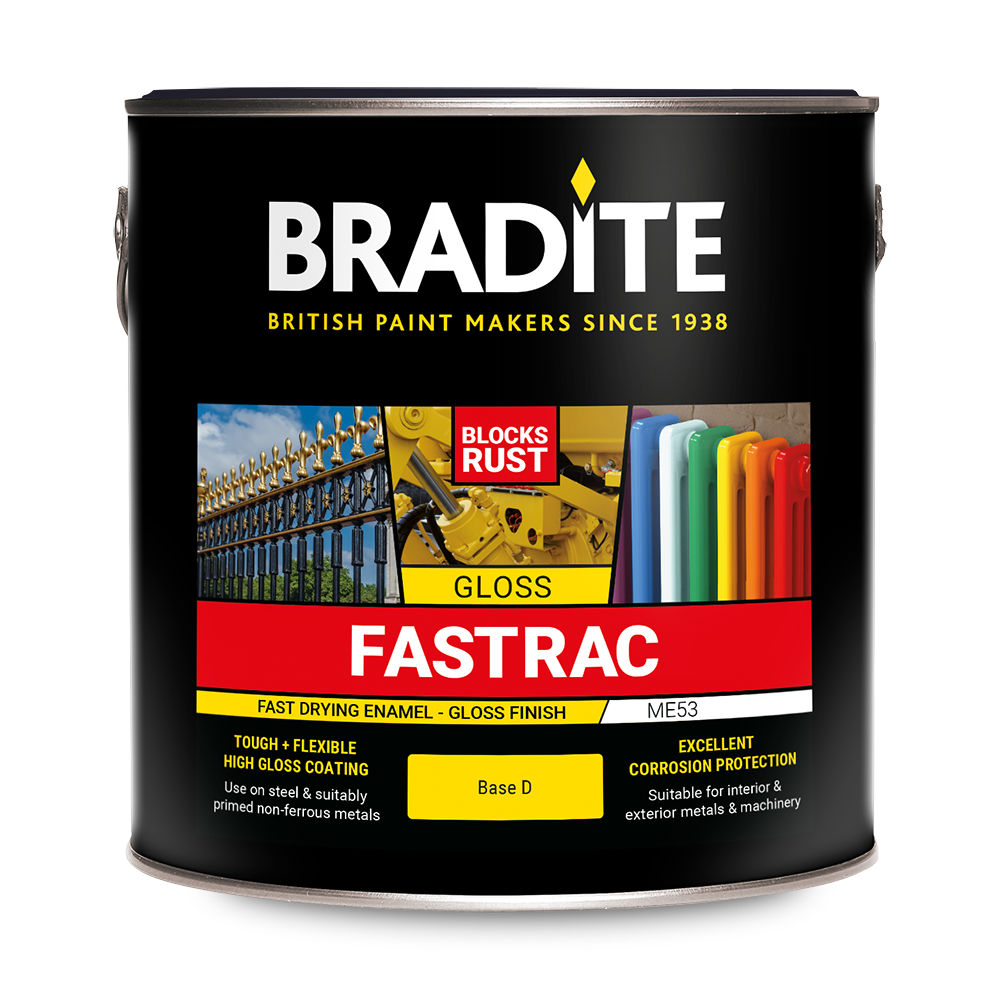 Metal Amp Machinery Finishes Bradite